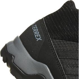 adidas TERREX Mid GTX Shoes Kids core black/core black/vista grey